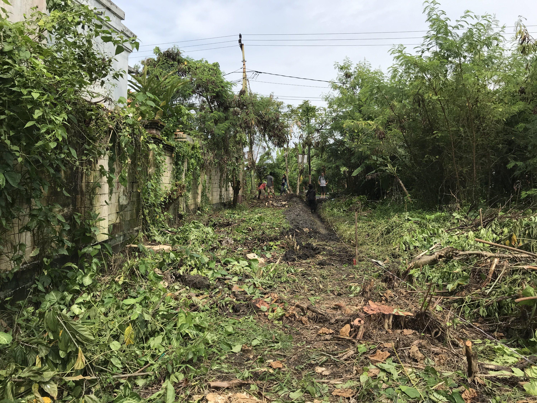 Building the Private Access Road, Ohana Retreat Bali